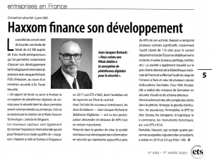 Haxxom finance son développement